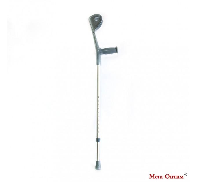 Костыль с опорой под локоть (CA851L1, серебрянные)(1 шт)